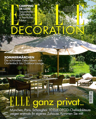 Cover for Elle Decoration (Germany)
