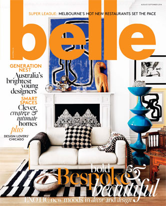 Cover for Belle Magazine